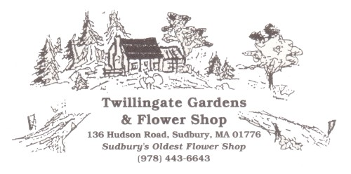 Twillingate Gardens and Flower Shop, Sudbury MA